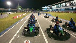 Corrida de Kart, minha primeira vez no asfalto - Kartódromo RBC Racing   Drone - (Parte 1/2)