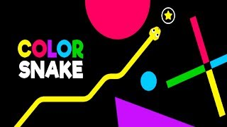 Color Snake - Android/iOS Gameplay (BY Ketchapp )