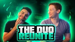 THE OLD SCHOOL DUO IS BACK!! 2v2 GUNFIGHT WITH NADESHOT!!