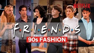 All The Best 90s Fashion Moments From Friends