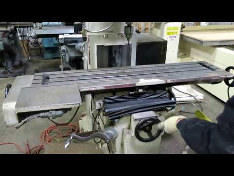 Vectrax GS-N16V 3-Axis CNC Knee Type Milling Machine, General