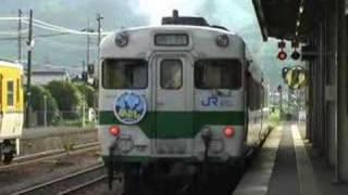 JR 58系気動車 急行 みよし7号 (3-Jun-2007)