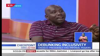 Debunking Inclusivity: Murkomen and Orengo on the issue of inclusivity |Checkpoint