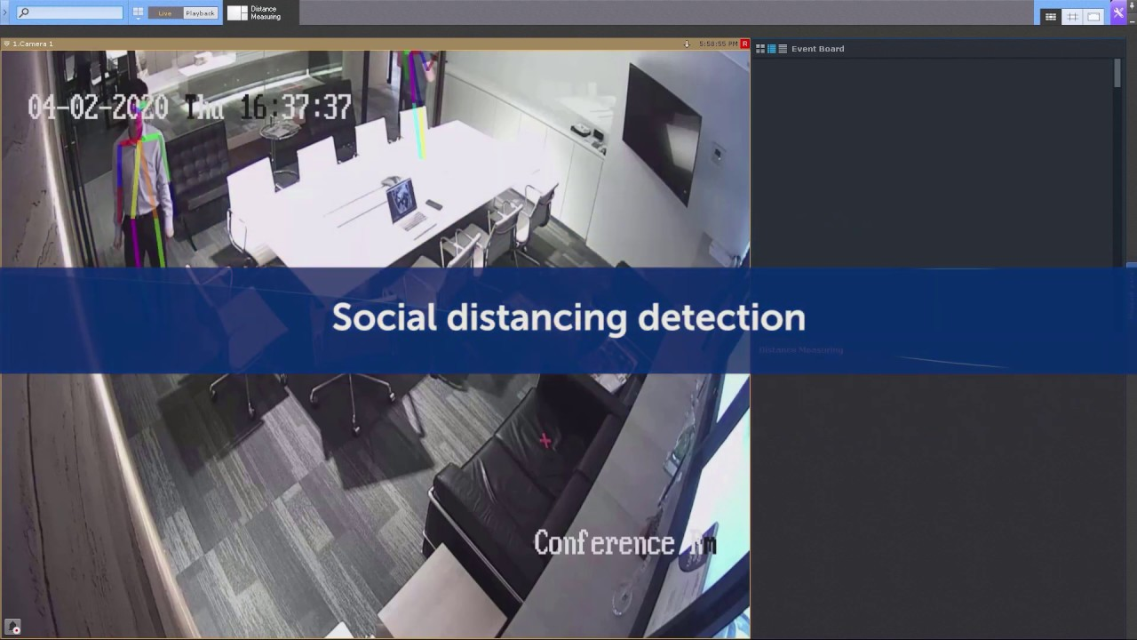 Social Distancing Detection