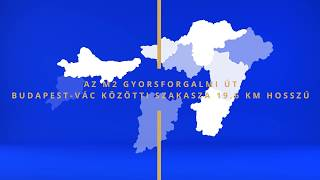 M2 gyorsforgalmi út megvalósítása Budapest-Vác között
