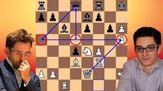 Full Steam Ahead | Levon Aronian vs Fabiano Caruana | 2018 Candidates Chess Tournament