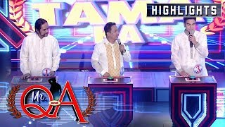 Ryan Rems, Eric Nicolas, and Eris Aragoza battle it out in May Tama Ka | It's Showtime Mr Q and A