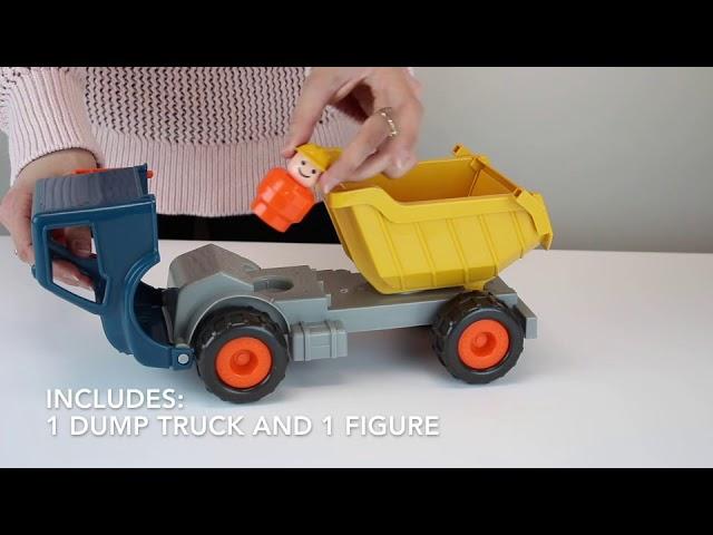 Конструктор - Архітектор помаранчевий візок