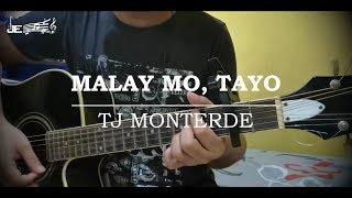 TJ Monterde   Malay Mo, Tayo (Guitar Tutorial)