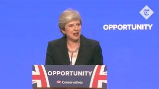 Highlights: Theresa May