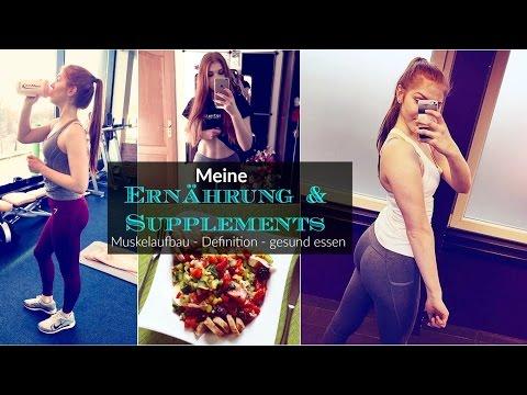 Muskelaufbau, Definition, Gesundes Essen für Frauen ♥︎ Meine Ernährung & Supplements