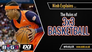 The Rules of 3 on 3 Basketball (FIBA 3x3 - The Big3) - EXPLAINED!