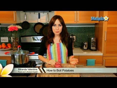 Video How to Boil Sweet Potatoes