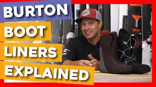 2020 Burton Snowboard Boot Liners Explained