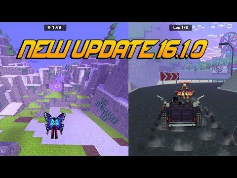 Glider & Racing Mode - New Pixel Gun 3D Update 16.1.0 - New Mini Games!
