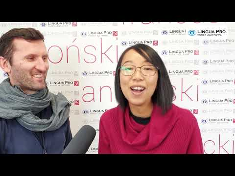 Kadr z filmu na youtube - Wywiad z lektorką - Fu-lan Lee