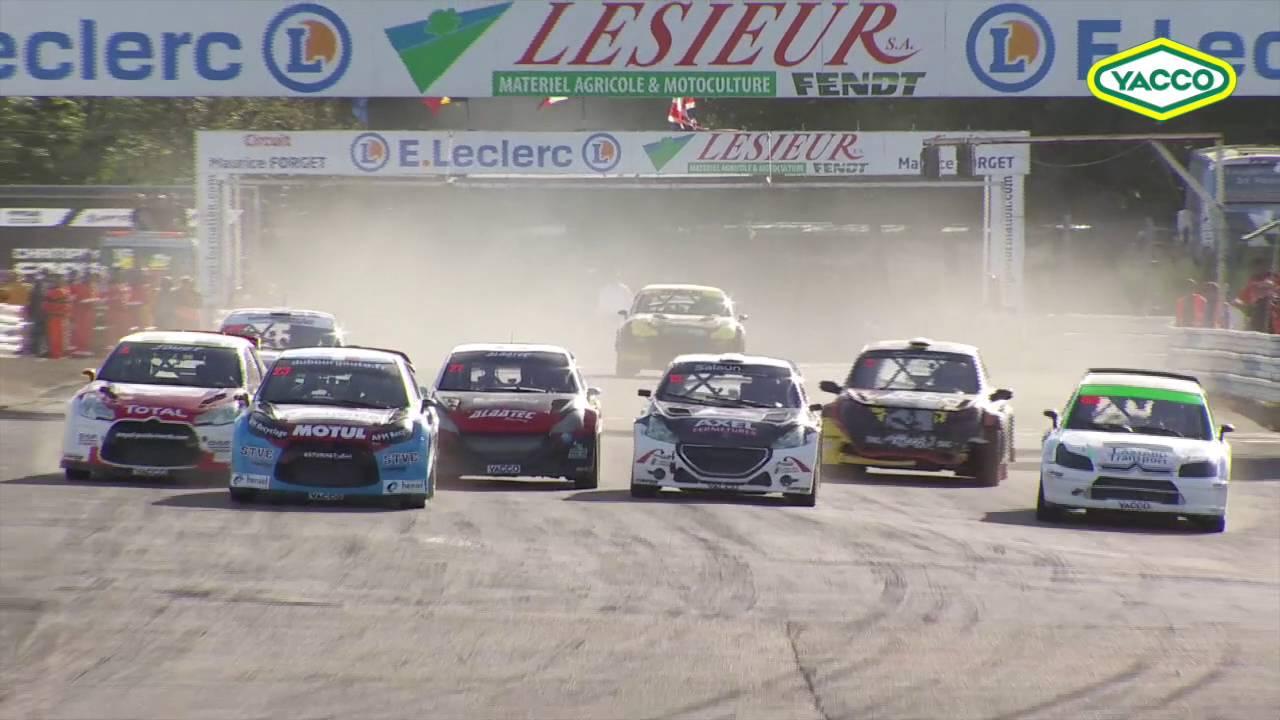 Rallycross de Mayenne 2016 - Les Supercars