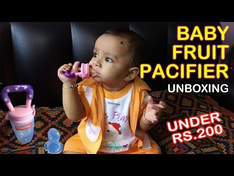 Baby Fruit Pacifier Unboxing = Fisher Price - Silicone Food Nibbler