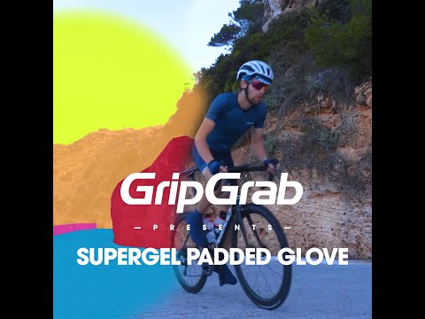 GripGrab Supergel cykelhandske Navy video