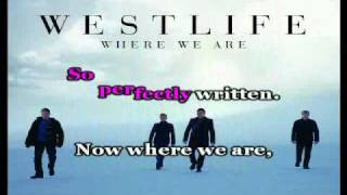 westlife-where we are. With lyric