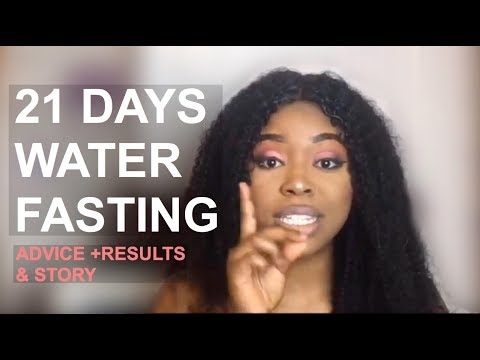 HOW I LOST 10 POUNDS IN 4 DAYS BY MISTAKE ! (21 DAYS WATER FASTING