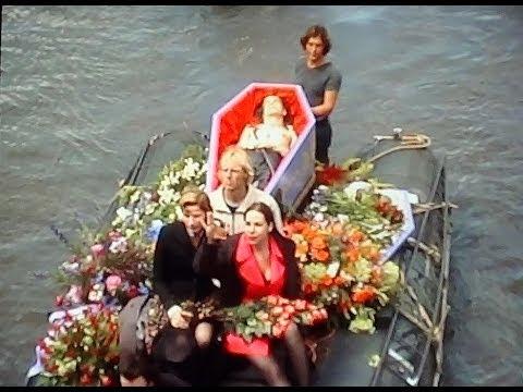 Afscheid / Begrafenis van Peter Giele in Amsterdam.