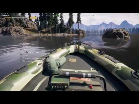 Геймплей Far Cry 5 -поиск всех бочонков с виски (PS4)