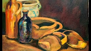 Vinnie's Crocks and Pots or Paint Vincent Van Gogh's Still life with Ginger Cook | Kholo.pk