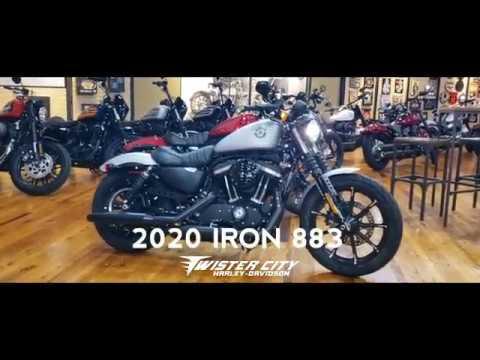 2020 Harley-Davidson® Iron 883™ : XL883N