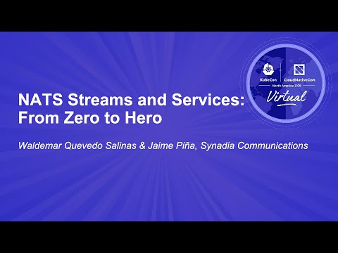 Image thumbnail for talk NATS Streams and Services: From Zero to Hero