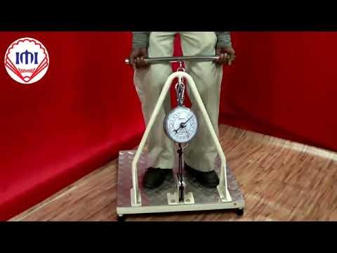Arm-Leg & Back Pull Dynamometer, IMI 1428