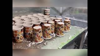 How is molded bamboo fiber coffee cups made ? - mannbamboofiber.com