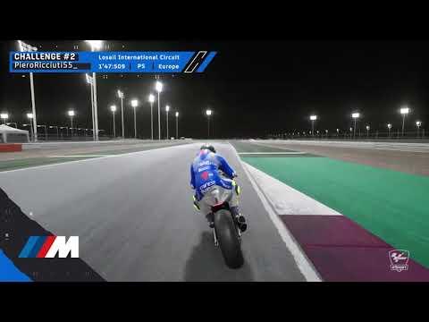MotoGPバーチャルレース チャレンジ2 ベストラップ動画