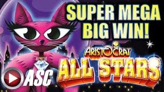 ★ SUPER MEGA BIG WIN! ★ A MISS KITTY SPECTACULAR! | ALL STARS VIP JACKPOT!!!? Slot Machine Bonus