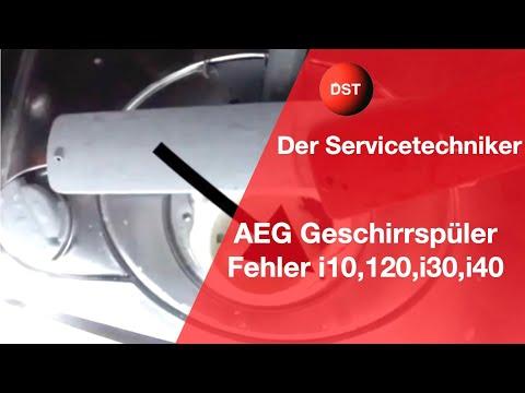 i10, i20, i30, i40 Spülmaschine AEG, Electrolux, Zanker, Zanussi, Privileg