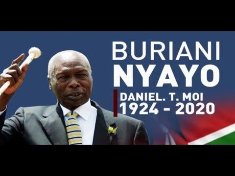 #Breaking: Former President Daniel Arap Moi is dead
