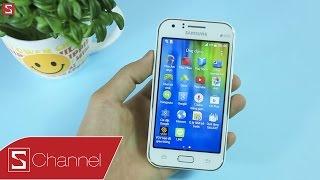 Schannel-MởhộpGalaxyJ1giá2.2triệu:SmartphonetiếpnốiGalaxyV