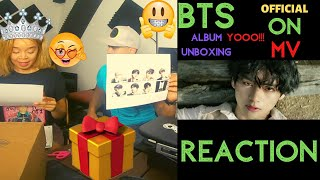 BTS (방탄소년단) 'ON' Official MV And Album Unboxing - KITO ABASHI REACTION
