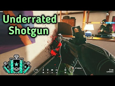 Hibana's Shotgun Is Amazing! : Xbox Diamond - Ranked Highlights - Rainbow Six Siege Gameplay