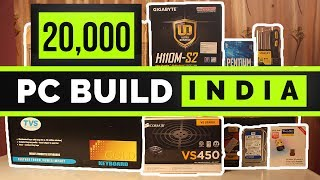 How to Build a PC in HINDI. 20,000 Rs Indian Gaming PC. [PC BUILD INDIA]