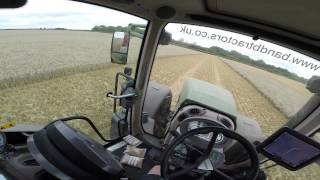 operating annaburger chaser bin with fendt 939 on 12m CTF