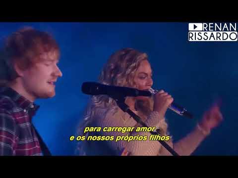 Ed Sheeran - Perfect Duet [com Beyoncé] (Tradução) (видео)