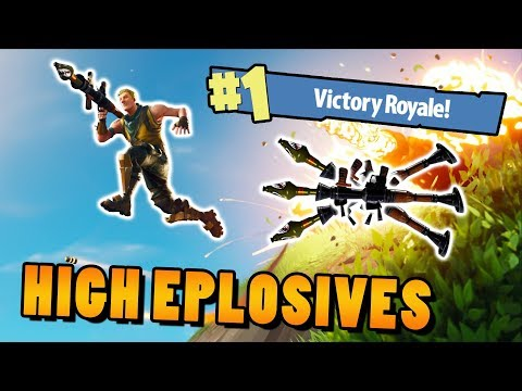 TRIPLE RAKETOMET! High Explosives v2│Fortnite: BR