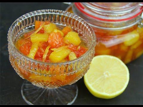 Pineapple Papaya Marmalade Recipe.