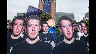 Mark Zuckerberg faces European parliament – watch live