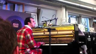 Chilly Gonzales never stop with iPad @ rough trade east for