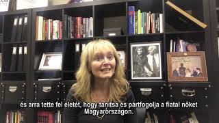 KATRINA LANTOS SWETT VIDEÓÜZENETE