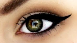 PERFECT Winged Eyeliner using Gel Eyeliner | RawBeautyKristi