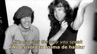 Go Down (Español/Inglés) - AC/DC
