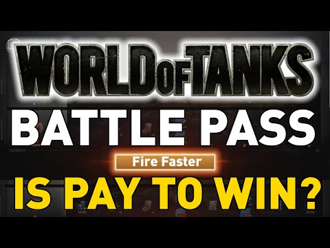 World of Tanks Battle Pass is Pay to Win?